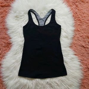 Lululemon Athletica T Back Mesh Tank Top Shirt